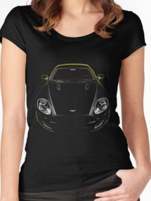 Aston Martin Front Women's Fitted Scoop T-Shirt