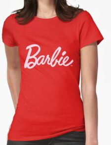 Barbie tumblr inspired print Womens Fitted T-Shirt