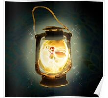 Fairy in the lantern Poster