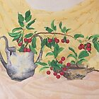 Wild Cherries and antiquities by JANET SUMMERS