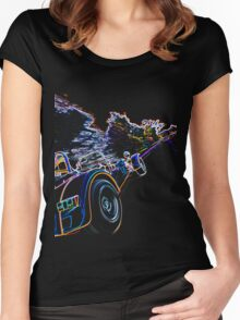 Caterham 7 Rear Women's Fitted Scoop T-Shirt