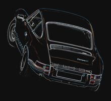 Porsche 911 2.7 RS Overhead Kids Clothes