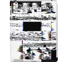 Glitch Skull iPad Case/Skin