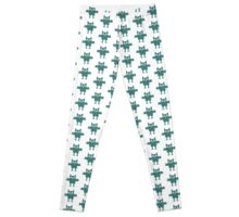 Green Owl Leggings