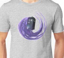 Flying, Time Traveling, Box Unisex T-Shirt
