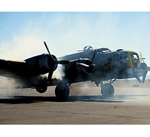 This Old Bird Has Seen More Smoke Photographic Print
