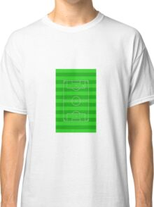 Football Soccer Pitch Classic T-Shirt