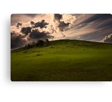 Faithless Is He That Says Farewell When The Road Darkens Canvas Print