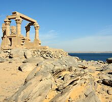 Ancient Nubian Temple of Kalabsha, Egypt by Petr Svarc