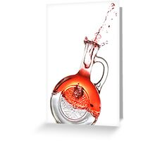 Bottled Red #2 Greeting Card