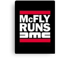 McFly Runs DMC Canvas Print