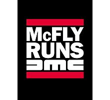 McFly Runs DMC Photographic Print
