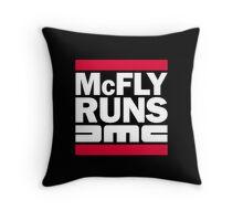 McFly Runs DMC Throw Pillow