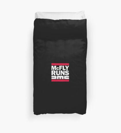 McFly Runs DMC Duvet Cover