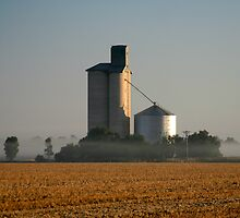 Grain Silo by Lynton Brown