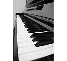 88 Keys Photographic Print