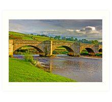 Packhorse Bridge - Burnsall Art Print