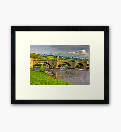 Packhorse Bridge - Burnsall Framed Print
