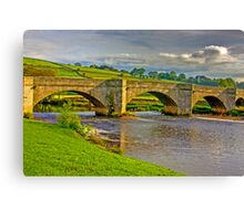 Packhorse Bridge - Burnsall Canvas Print