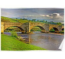 Packhorse Bridge - Burnsall Poster