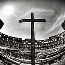Colosseum Cross by thephotosnapper
