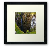 Pot Hole (Buttertubs Pass) Framed Print