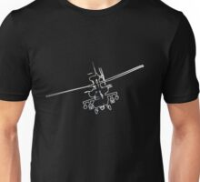 Apache Helicopter 1 Unisex T-Shirt