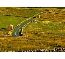 Dales Road Photographic Print