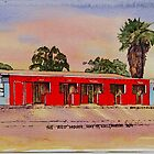The Red House,Hay St ,Kalgoorlie West Australia. by robynart