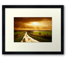A Road To Nowhere Framed Print