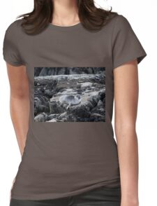 Baby harbour seal Womens Fitted T-Shirt