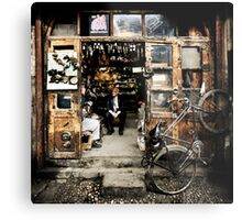 Meeting with the Boss #0201 Metal Print