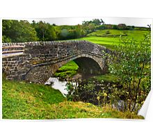 Packhorse Bridge - River Swale Poster