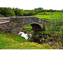 Packhorse Bridge - River Swale Photographic Print
