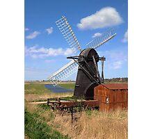 Herringfleet Mill Photographic Print