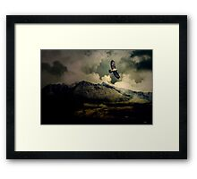 Fourth Movement: The Glen 1860. Clearing the Storm Slowly. Framed Print