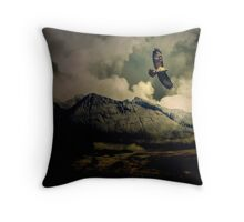 Fourth Movement: The Glen 1860. Clearing the Storm Slowly. Throw Pillow