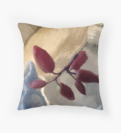 Up Through Glass Throw Pillow