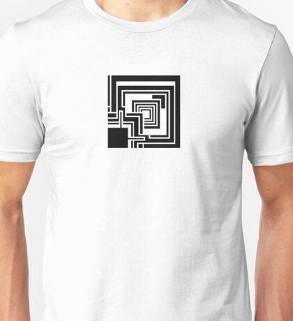 Textile Block Black Architecture Tshirt Unisex T-Shirt