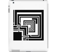 Textile Block Black Architecture Tshirt iPad Case/Skin