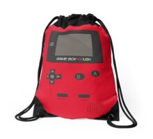Retro Video Game Boy Console   Drawstring Bag
