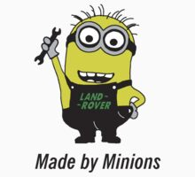 Land Rover - Made by Minions by Sally-Anna