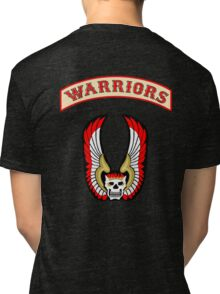 The Warriors - Back Patch  Tri-blend T-Shirt