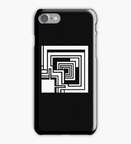 Textile Block White Architecture Tshirt iPhone Case/Skin