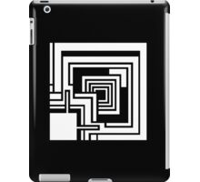 Textile Block White Architecture Tshirt iPad Case/Skin