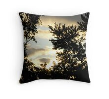 Sunrise in the Suburbs Throw Pillow
