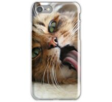 Goofy Cat iPhone Case/Skin