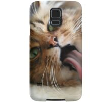 Goofy Cat Samsung Galaxy Case/Skin