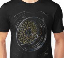 BBS Wheel, 911 RSR Unisex T-Shirt