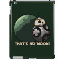 That's No Moon! (Alternate Design) iPad Case/Skin